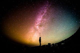 Staring at cosmos