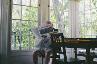 Searching newspaper